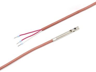 Pt100 Kabelfühler mit perforierter Hülse 10 Meter