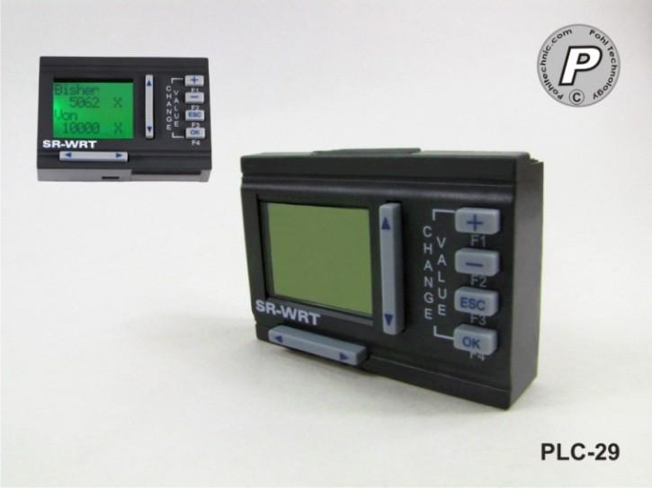 WRT-Display mit Bedienfeld für SR-Basismodule