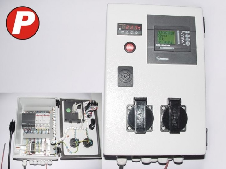 XT-100 Programmierbarer Temperaturregler + SPS - Betriebsfertig