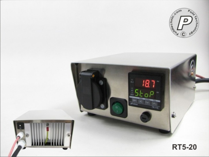 Rampen-Temperatursteuerung Tischgerät bis 16A Last