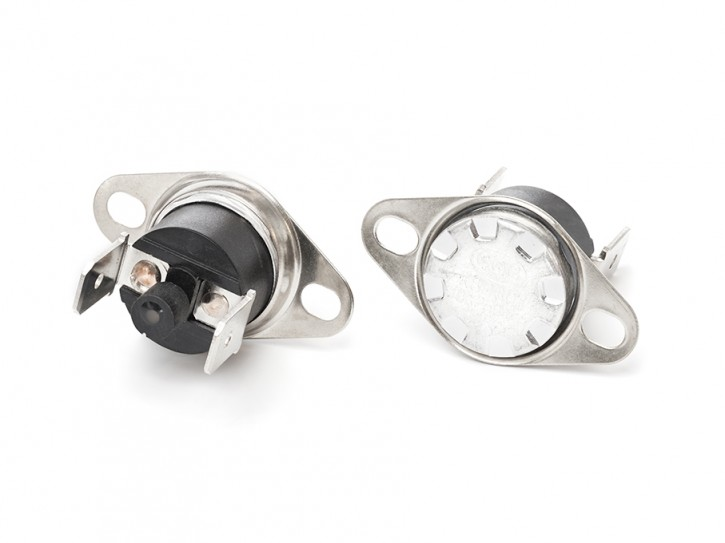 Bimetall-Temperaturschalter manuelle Wiedereinschaltung 130°C