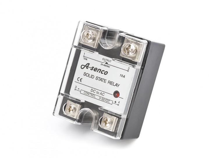 SSR Halbleiter Solid State Relais DC / AC, 230V AC 25 A